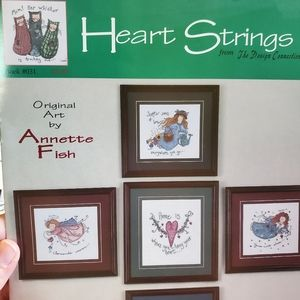 Heart Strings Counted Cross Stitch Pattern Booklet